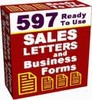 Thumbnail 597 Business Letters - A complete letter library