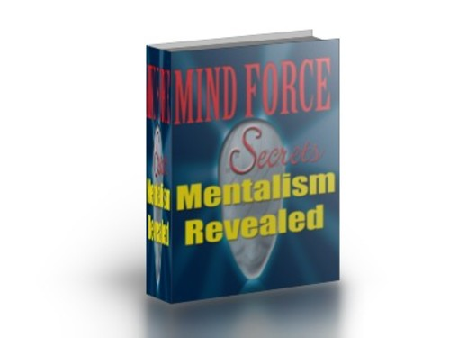 Product picture Mentalism Revealed Manual