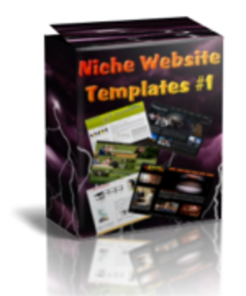 Product picture Niche Website Templates + Master Resell Rights!!!